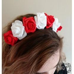 Nr.7 raud-baltas gėlių...