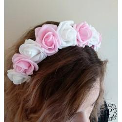 Nr.2 rožinis/baltas gėlių...